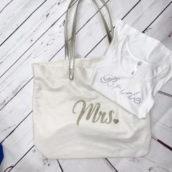 Mrs. Bag and Bride Shirt Tank Top S Small