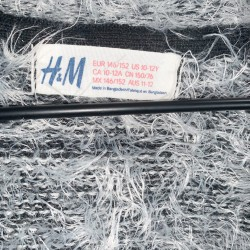 H&M Girls Gray Sweater Sz 10-12Y