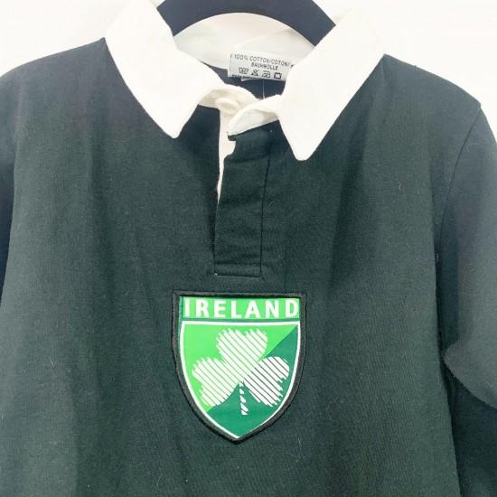 Black Collared Ireland Shirt Size 2 Toddler NWT