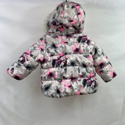 Girls Puffer Winter Coat Size 12M