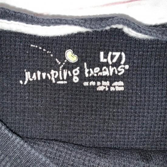Boys Black Baseball Jumping Beans L (7)