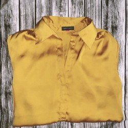 Gold Vince Camuto Blouse Size Small