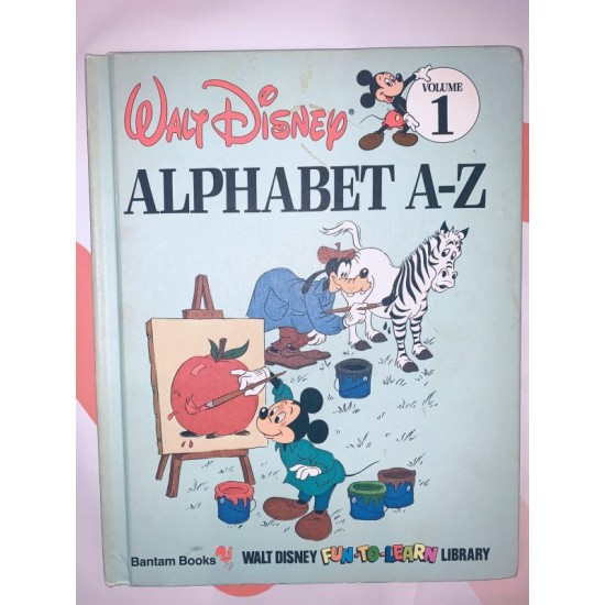 Alphabet A-Z Childrens Book