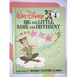 Big and Little Same and Different Children's Book Disney