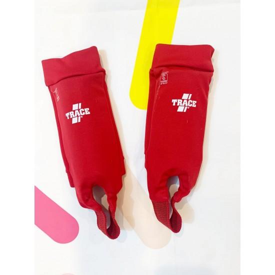 Red Shin Guards XS