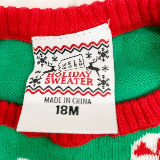 Christmas Ugly Sweater Size 18M