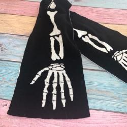 Halloween Skeleton Scarf