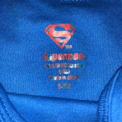 Superman Onesie Sz 3-6 Months