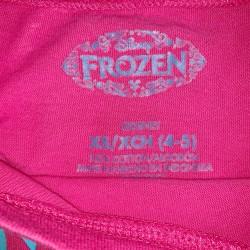 Girls Pink Frozen long sleeve Sz XS 4/5