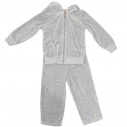 Gray Jogging Suit Pants and Jacket Sz 18-24M