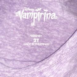 Vampirina Matching Top and Pants Sz 2T