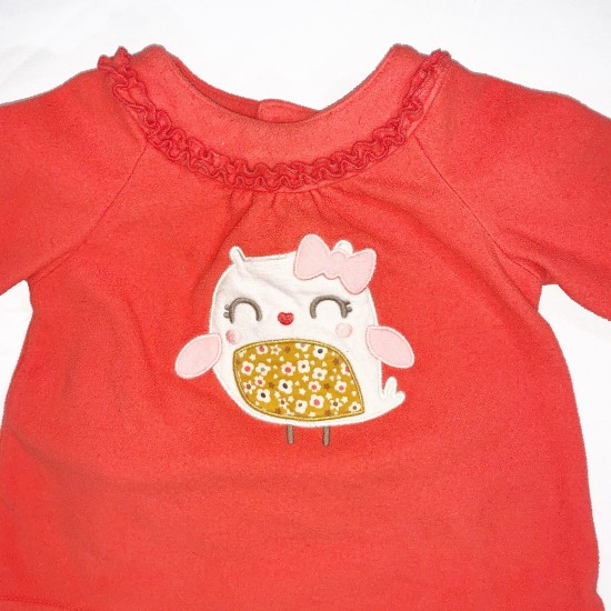 Matching Owl Top and Bottom Sz 18M