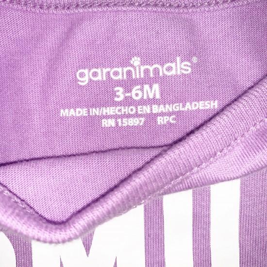 Girls Purple Onesie Sz 3-6 M
