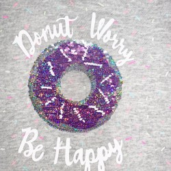 Donut Short Sleeve Top Sz 7/8