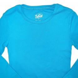 Girls Basic Long Sleeve Blue Sz 7