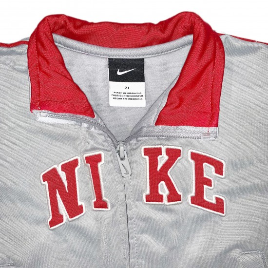 Boys Gray and Red Jacket Sz 2T