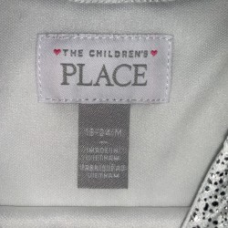 White and Silver Toddler Girls Dress Sz 18-24M
