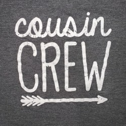 Cousin Crew Short Sleeve Gray Shirt Sz S