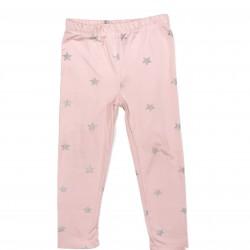 Girls Pink Star Legging Pants Sz 2T