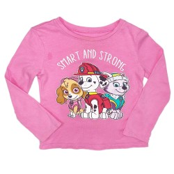 Girls Paw Patrol Pink Shirt Sz 2T