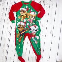 Paw Patrol Footie Pajamas Size 4T