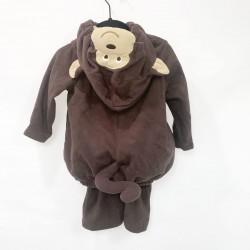 Monkey Halloween Costume Sz 12Mo