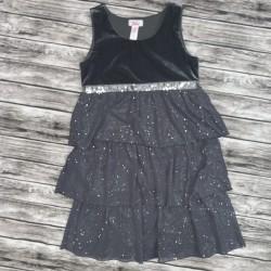Gray Sleeveless Dress Sz 10
