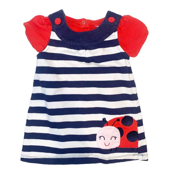 Red White and Blue Toddler Dress Sz 24M