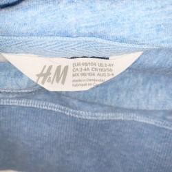 Blue H&M Hoodie Boys Size 2-4Y