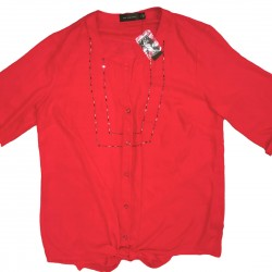 The Limited Red Blouse NWT Size Small