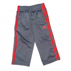 Boys Adidas Pants Gray and Red Size 3T