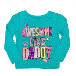 Girls Toddler Long Sleeve Tee Sz 2T