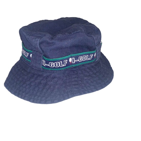 Boys Blue Golf Summer Hat Sz 3-6 Months