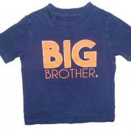 Big Brother Shirt Size 4T