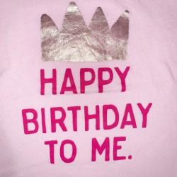 Birthday Short Sleeve Tee Shirt Girls Size 3T