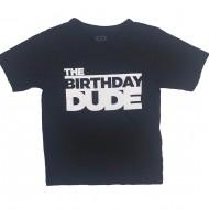 Birthday Dude Shirt Size 4T