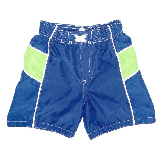 Blue and Green Boys Swim Trunks Sz 2T