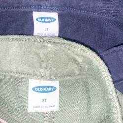 2 Pairs of Old Navy Toddler Shorts Sz 2T