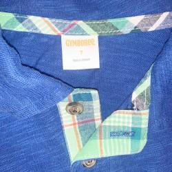 Gymboree Blue Boys Polo Shirt Size 7