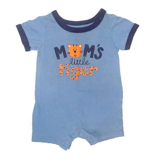 Moms Little Tiger Onesie Outfit Sz 12 M