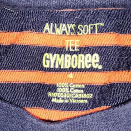 Boys Blue Gymboree Long Sleeve Top Sz 4