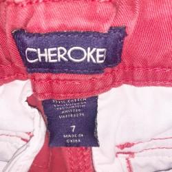 Cherokee Red Jean Shorts Sz 7