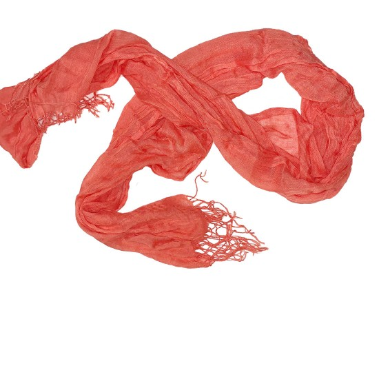 Scarf Womens Coral