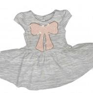 Pastourelle Dress Gray Toddler Sz 2T