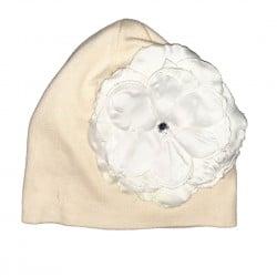 Girls Flower Hat Sz 0-18 Months