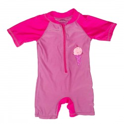 One Piece Bathing Suit Girls Size 2T