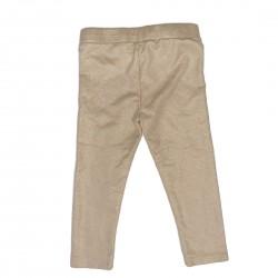 Gold Toddler Leggings Pants Sz 3T