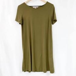 Forever 21 Green Short Sleeve Dress Sz M
