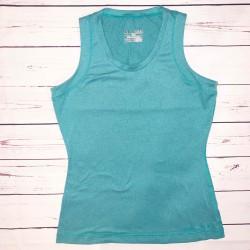 Women's Underarmour Green Sleeveless Shirt Size M