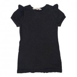 Girls H and M Black Dress  1.5-2 Years